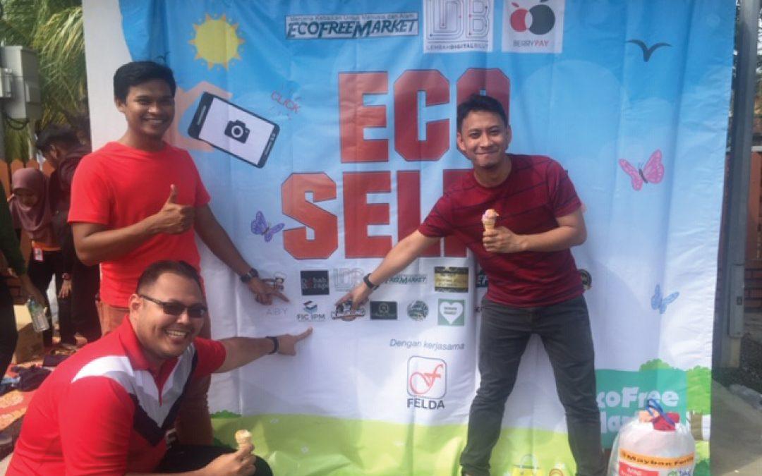 CSR Program Eco Free Market at Felda Lembah Bilut