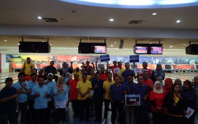 Bowling Activities with MEA staff